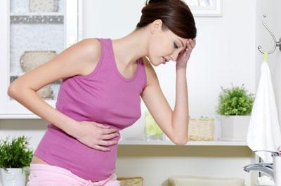 Боль в желудке у беременной