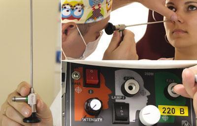 Эндоскоп для исследования носовой полости
