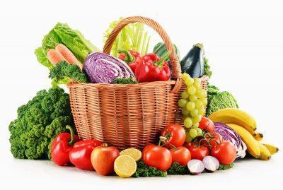 Cвежие фрукты и овощи