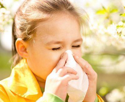 Чихание аллергического типа