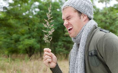 Аллергия у парня