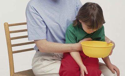 Промывание желудка ребенку