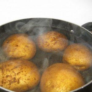 Ингаляции отварным картофелем