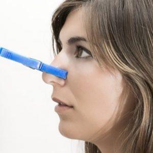Появление заложенности носа
