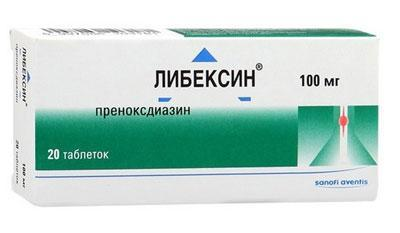 Препарат либексин
