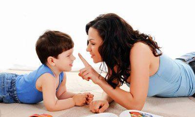 Общение мамы с ребенком