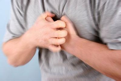 Чувство стеснения в груди
