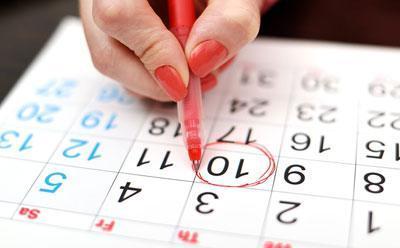 Дата начала овуляции в календаре