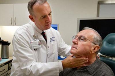 Обследование при раке горла