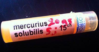 Гомеопатический препарат Mercurius