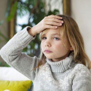 Ребёнок жалуется на головные боли;