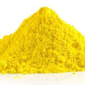 Жёлтый пищевой краситель тартразин