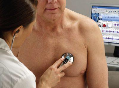 Стетоскопия лёгких