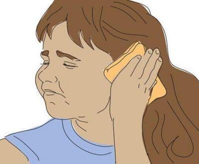 Компресс на уши