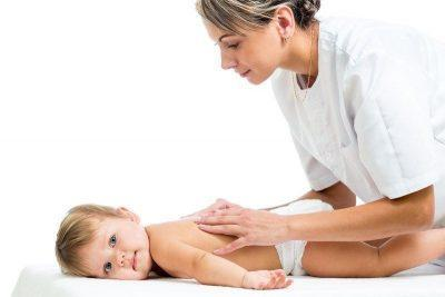 Массаж спины ребенку