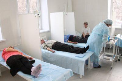 Госпитализированные в терапевтическое отделение