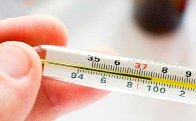 Температура на градуснике