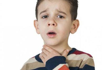 Боль в горле у ребенка