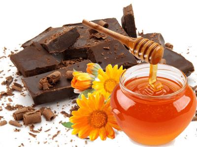 Мёд и чёрный шоколад
