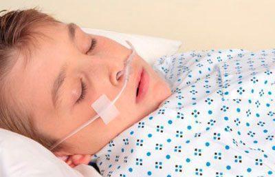 Кислородотерапия ребенку
