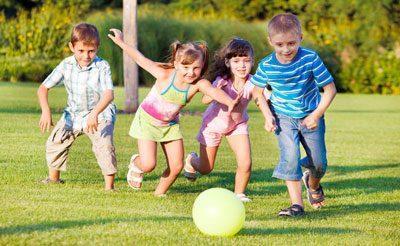 Подвижные игры ребенка