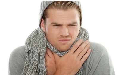 Сильная боль в горле