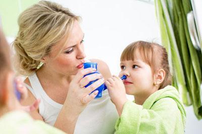 Очищение пазух носа