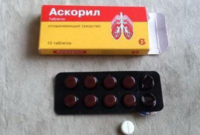 Аскорил в таблетках