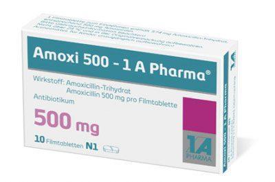 Препарат AMOXI500
