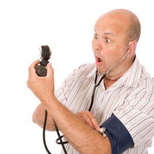 Повышение артериального давления