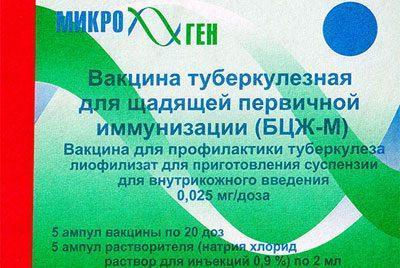 Вакцина бцж-м