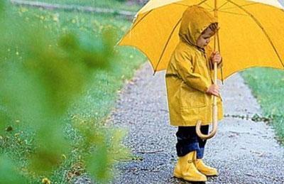 Ребенок одет по погоде