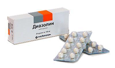 Препарат диазолин