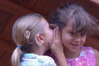 Слуховой аппарат у ребенка