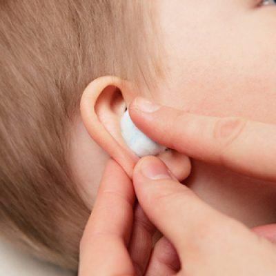 Закладывания в ухо турунды
