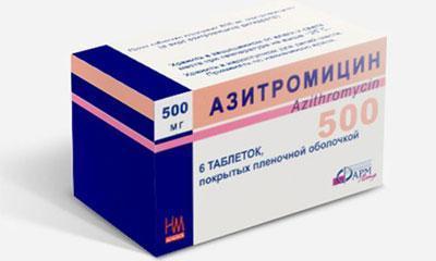Азитромицин как принимать при бронхите