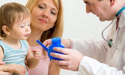 Чайничек для промывания носа ребенку