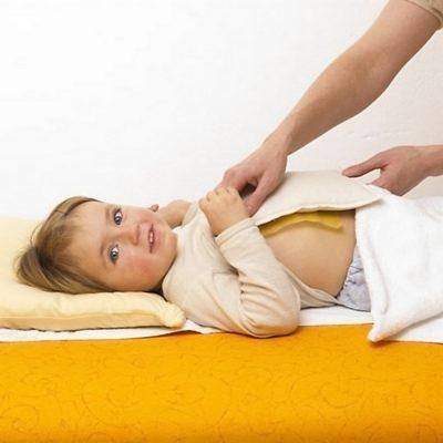 Горчичные компрессы для ребенка