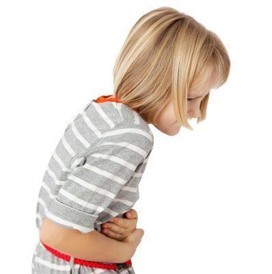 Боль в животе при кашле у детей