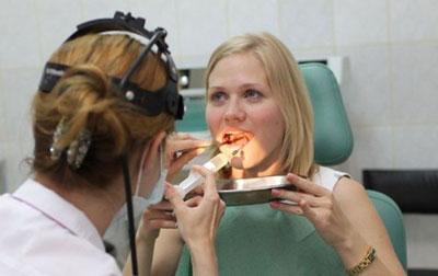 Пункция кисты горла