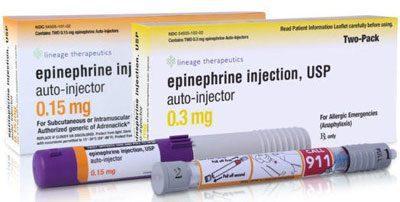 Препарат Эпинефрин