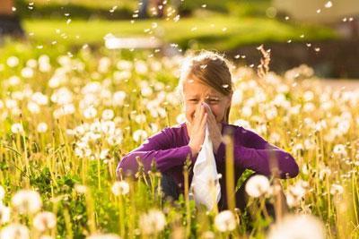 Аллергический лпрингит