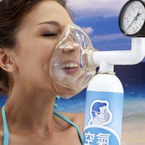 Вдыхание чистого кислорода