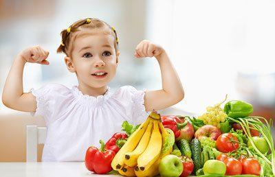 Фрукты и овощи ребенку