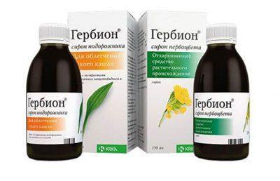 Препараты гербион