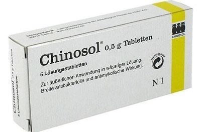 Препарат хинозол