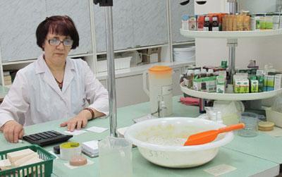 Фармацевтический отдел аптеки