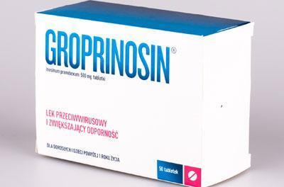 Препарат гропринозин