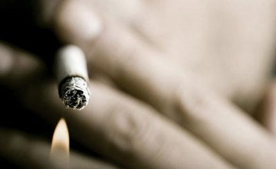 Процесс курения