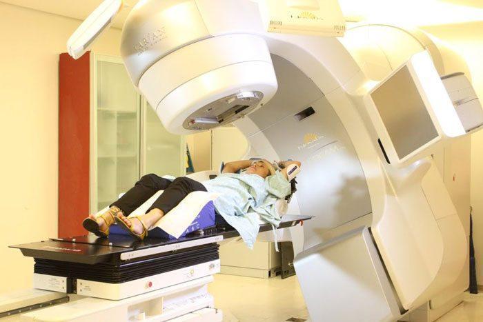Лучевая терапия рака бронхов